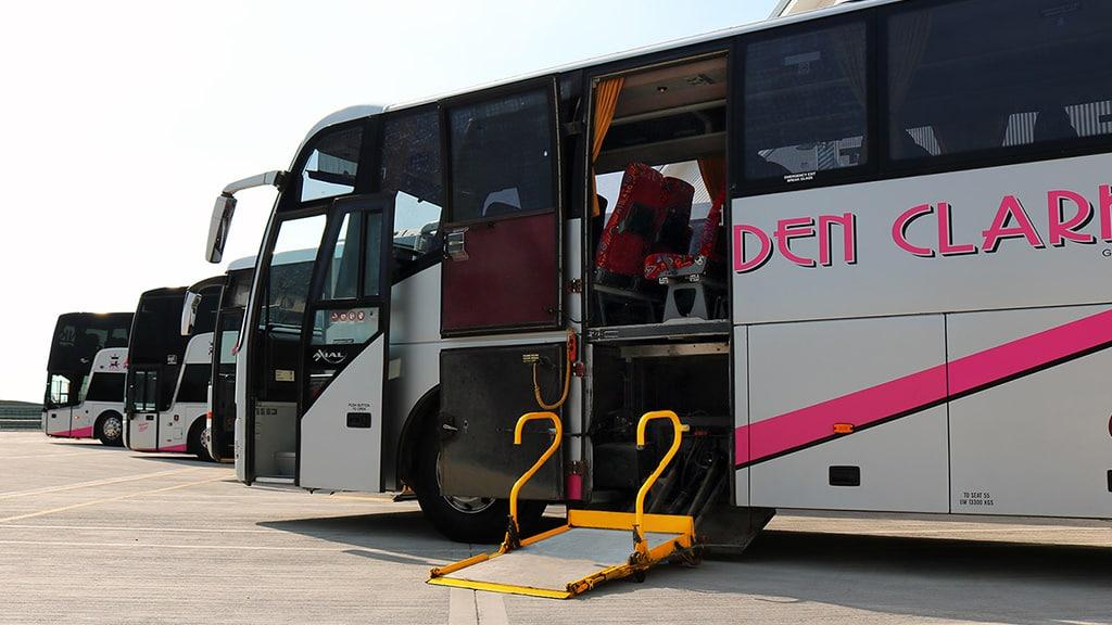 PSVAR Disabled Access Coaches